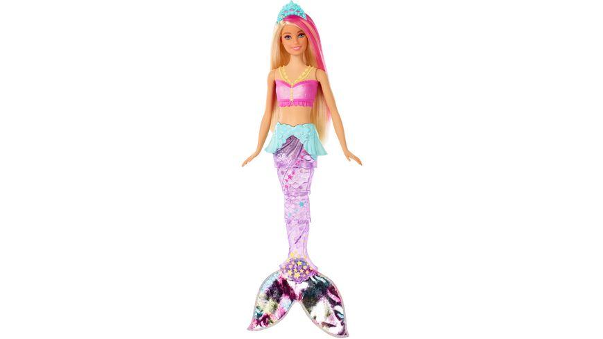 Mattel Barbie Dreamtopia Glitzerlicht Meerjungfrau mit Licht