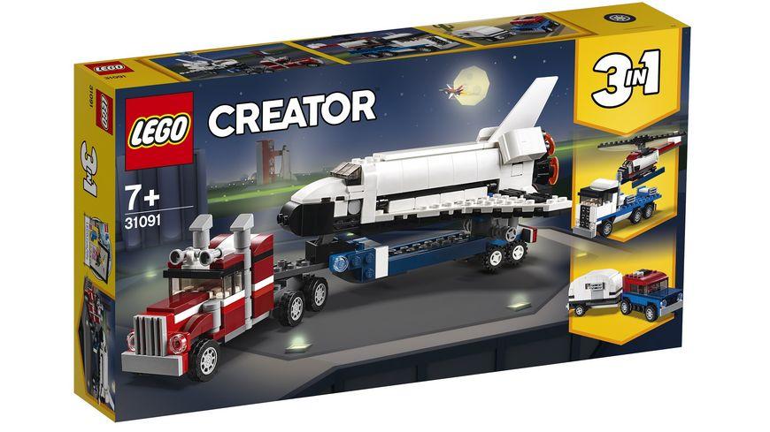 LEGO Creator 31091 Transporter fuer Space Shuttle