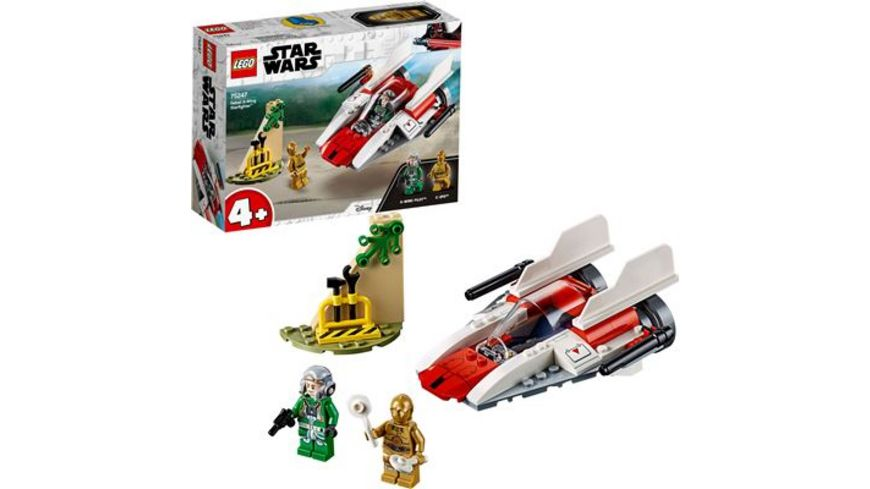 LEGO Star Wars 75247 Rebel A Wing Starfighter