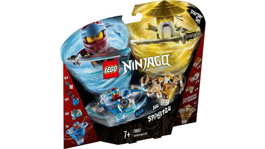 LEGO Ninjago 70663 Spinjitzu Nya Wu