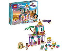 LEGO Disney Princess 41161 Aladdins und Jasmins Palastabenteuer