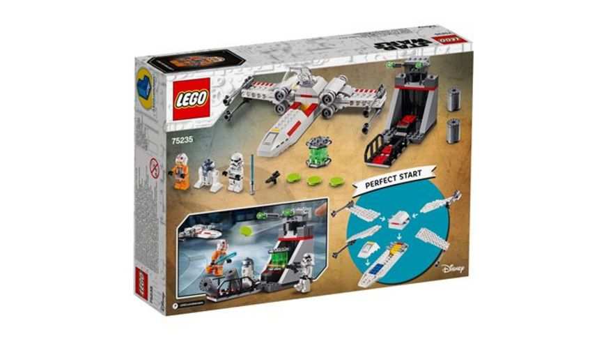 LEGO Star Wars 75235 X Wing Starfighter Trench Run