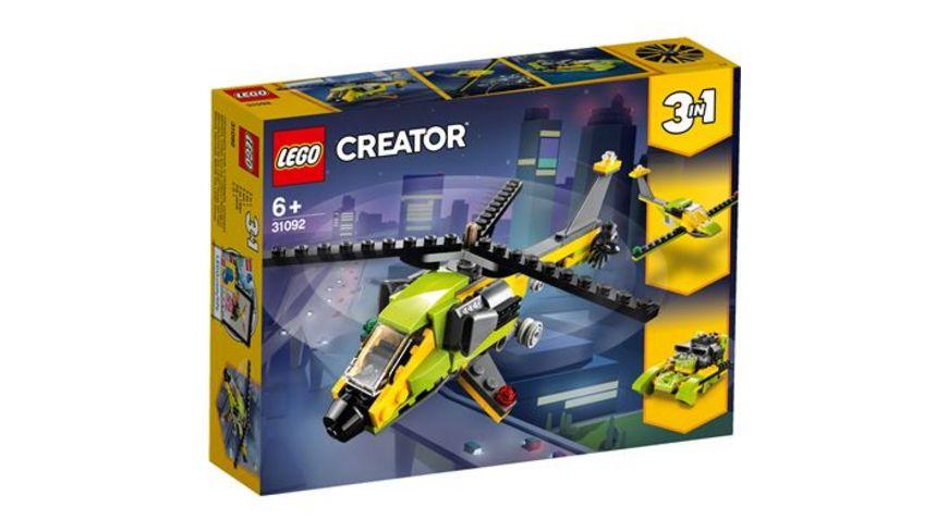 LEGO Creator 31092 Hubschrauber Abenteuer