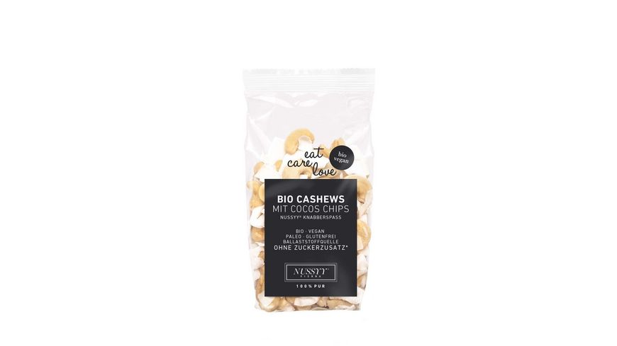 NUSSYY Bio Cashews mit Cocos Chips