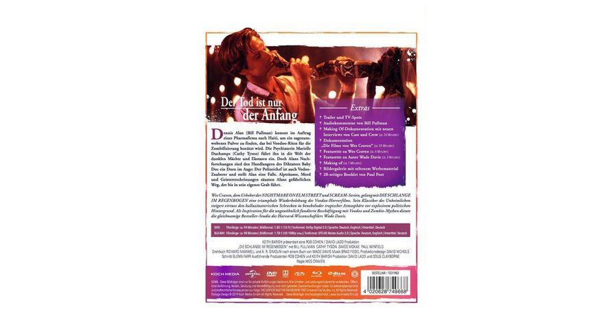 Die Schlange im Regenbogen Wes Cravens Mediabook 2 DVDs