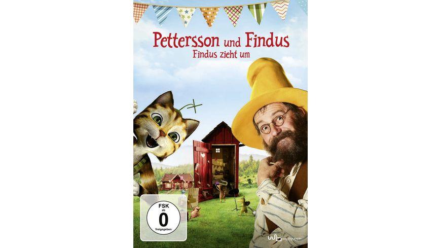 Pettersson und Findus Findus zieht um