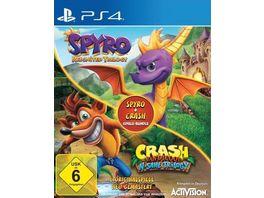 Spyro Crash Spiele Bundle
