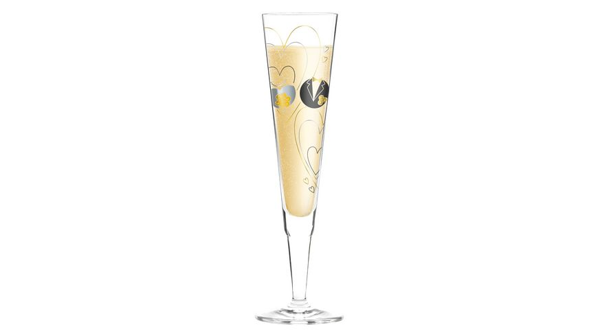 RITZENHOFF Champus Champagnerglas von Sandra Brandhofer