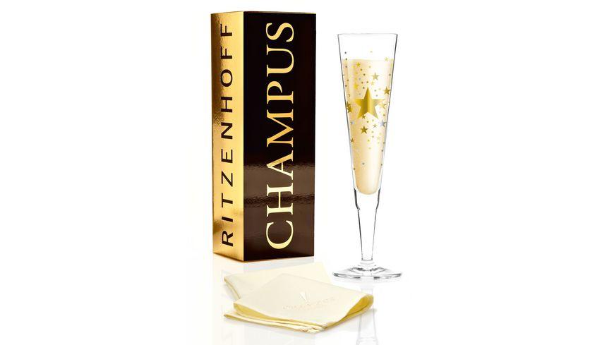 RITZENHOFF Champus Champagnerglas von Ellen Wittefeld