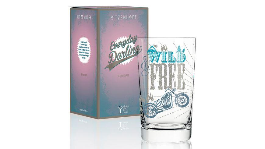 RITZENHOFF Everyday Darling Softdrinkglas von Petra Mohr Be free