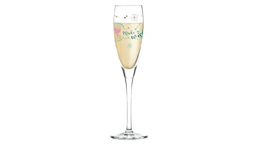 RITZENHOFF Pearls Edition Proseccoglas von Kathrin Stockebrand Pusteblume