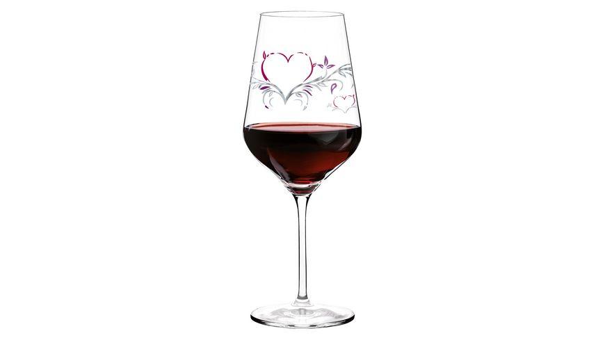 RITZENHOFF Red Rotweinglas von Kurz Kurz Design