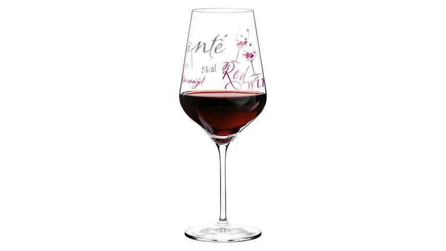 RITZENHOFF Red Rotweinglas von Kathrin Stockebrand
