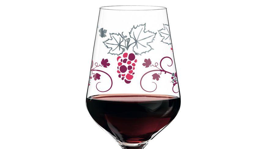 RITZENHOFF Red Rotweinglas von Shinobu Ito