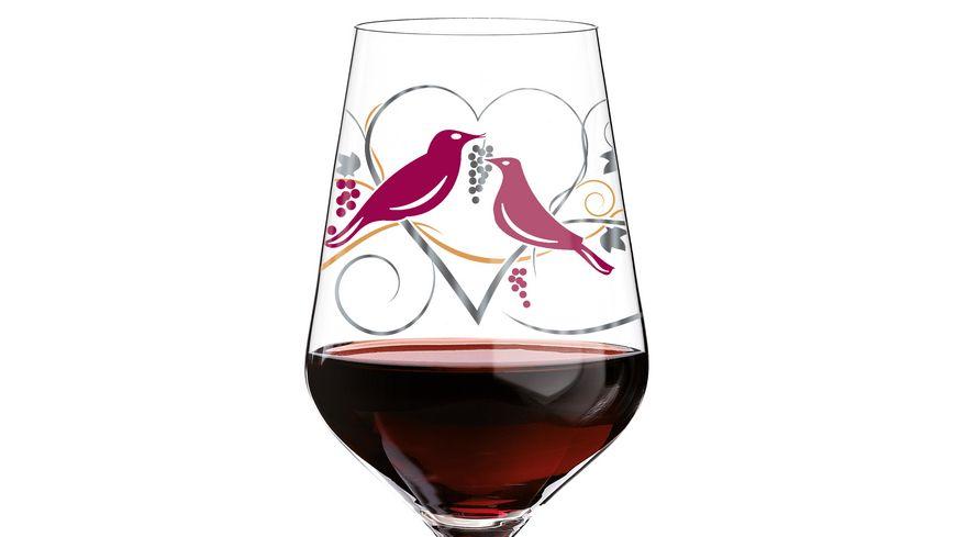 RITZENHOFF Red Rotweinglas von Anissa Mendil