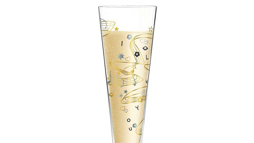 RITZENHOFF Champus Champagnerglas von Willian Farias