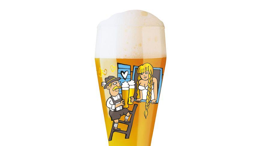 RITZENHOFF Weizen Weizenbierglas von Martina Schlenke