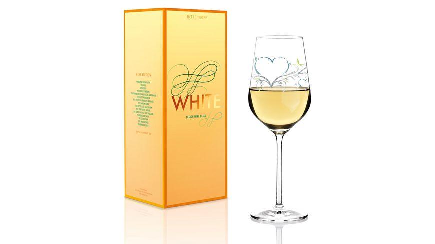 RITZENHOFF White Weissweinglas von Kurz Kurz Design