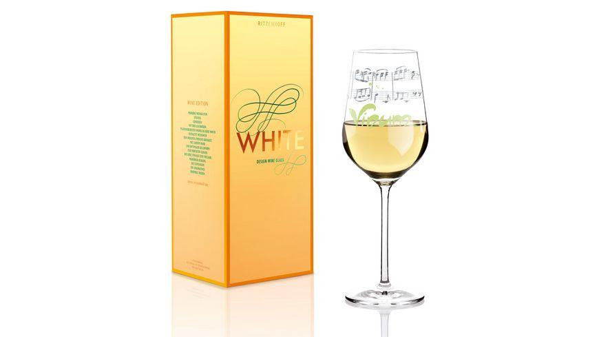 RITZENHOFF White Weissweinglas von Annett Wurm