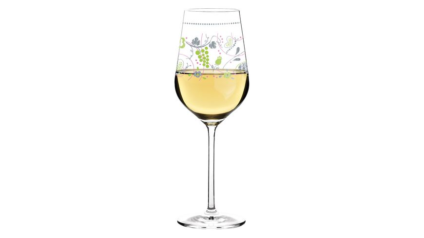 RITZENHOFF White Weissweinglas von Sandra Brandhofer