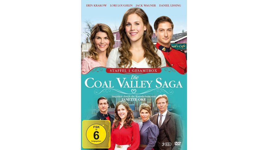 Die Coal Valley Saga Staffel 1 Gesamtbox 3 DVDs