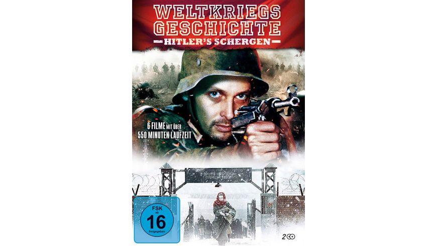 Weltkriegsgeschichte in einer Collection 2 DVDs