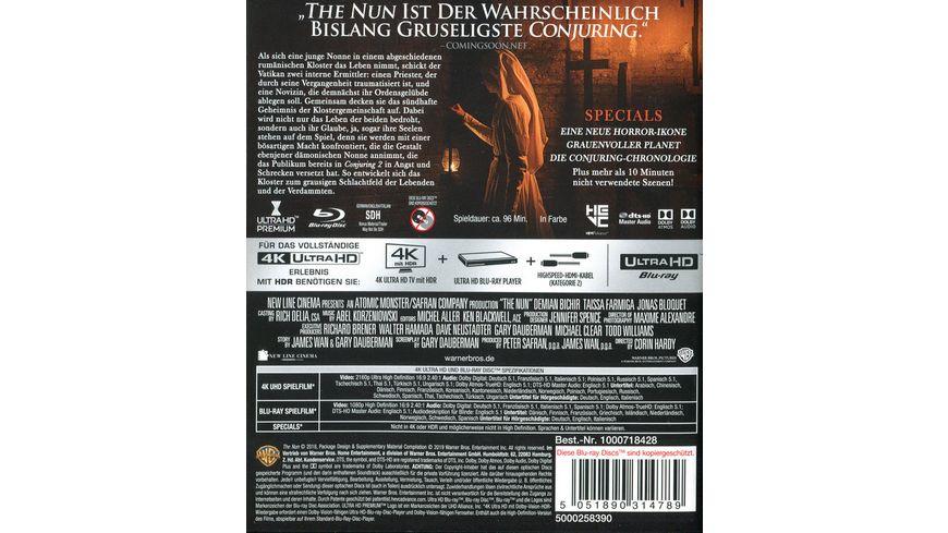The Nun 4K Ultra HD Blu ray 2D