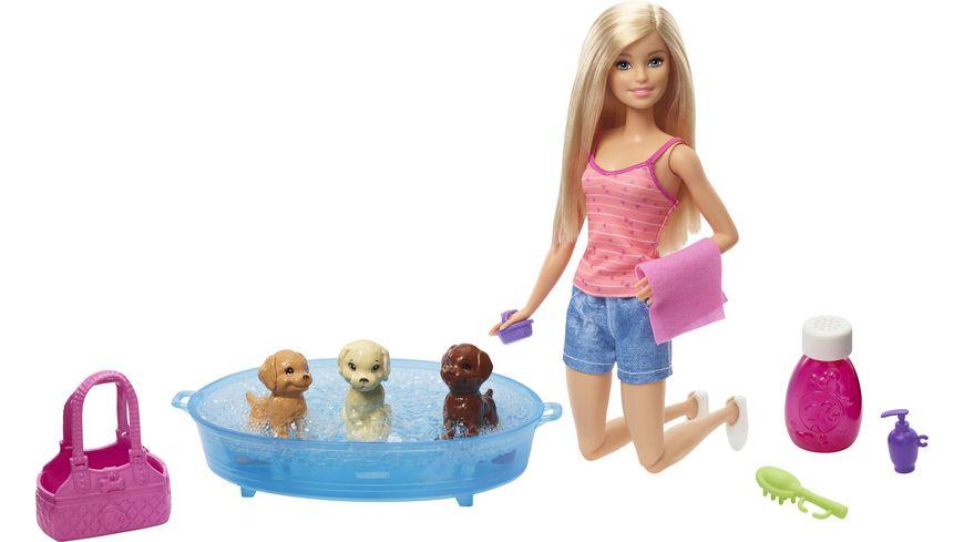 Mattel Barbie Barbie mit Hundebad