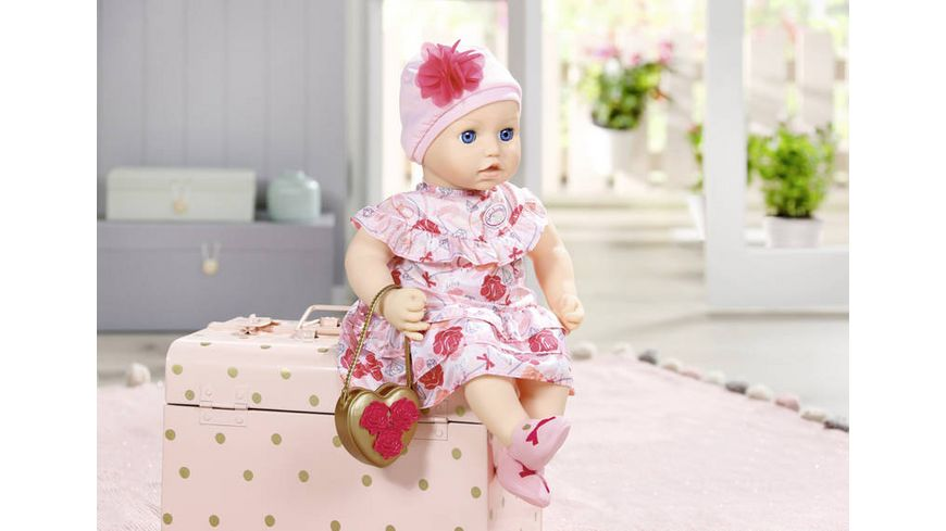 Zapf Creation Baby Annabell Deluxe Set Blumen 43cm