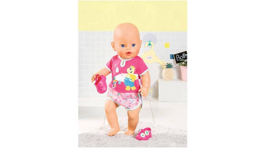 Zapf Creation Baby born Bath Pyjamas und Clogs 43cm