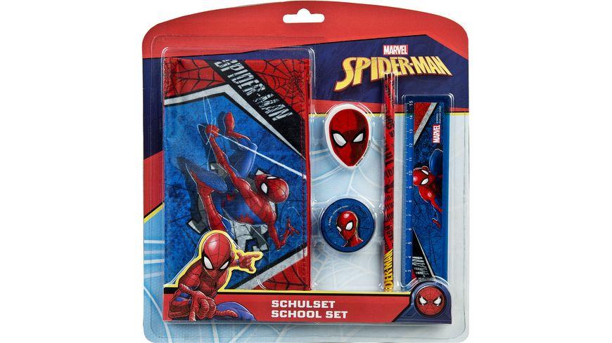 Undercover Spider Man Schulset 5 teilig