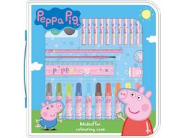Undercover Peppa Pig Malkoffer