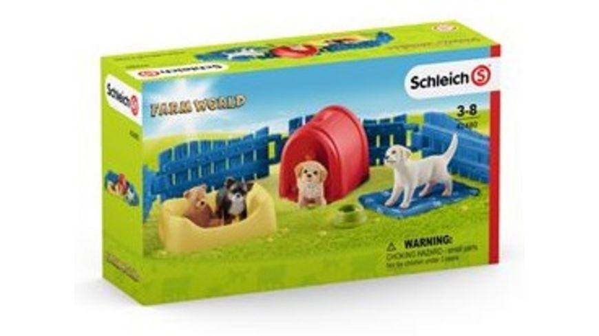 Schleich Farm World Welpenstube