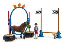 Schleich 42482 Farm World Pony Agility Rennen