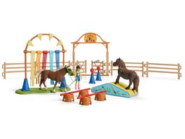 Schleich 42481 Farm World Pony Agility Training