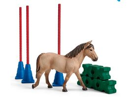 Schleich 42483 Farm World Pony Slalom