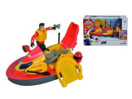 Simba Feuerwehrmann Sam Sam Juno Jet Ski mit Figur