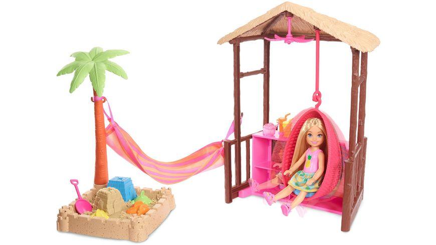 Mattel Barbie Reise Chelsea Ferieninsel Huette