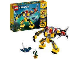 LEGO Creator 31090 Unterwasser Roboter