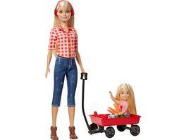 Mattel Barbie Farm Barbie und Chelsea