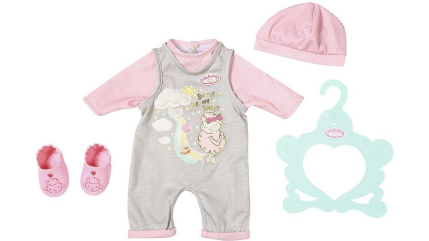 Zapf Creation Baby Annabell Suesses Baby Outfit 43cm