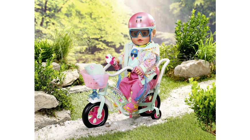 Zapf Creation Baby Born Play and Fun Deluxe Fahrrad Outfit 43cm