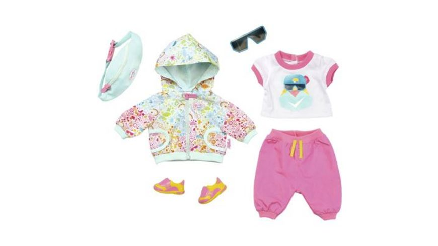 Zapf Creation Baby born Play und Fun Deluxe Fahrrad Outfit