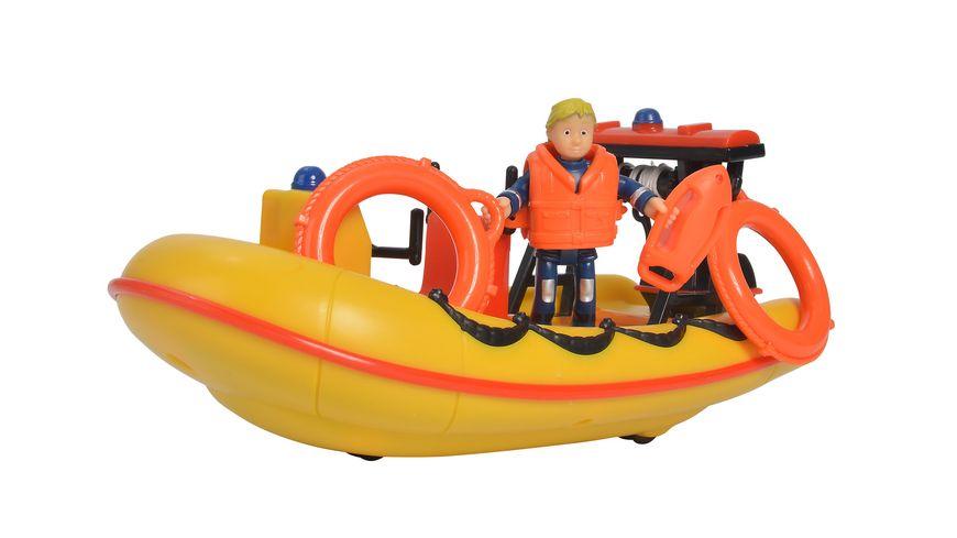 Simba Feuerwehrmann Sam Sam Neptune Boot mit Figur