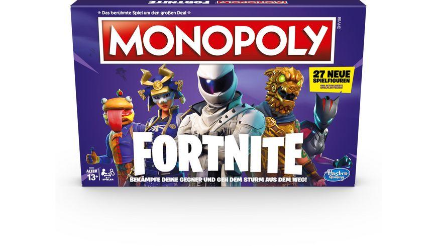 Hasbro Gaming Monopoly Fortnite