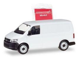 Herpa 13550 MiniKit VW T6 Kasten weiss 1 87