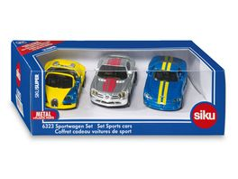 SIKU 6323 Super Sportwagen Set