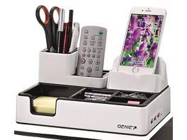 GENIE Desktop Organizer mit Ladestation