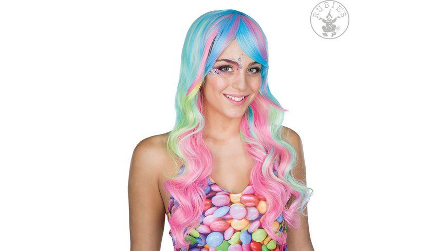 Rubies Langhaarperuecke Candy Lady
