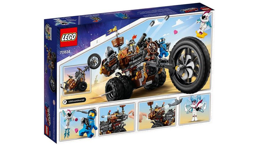 LEGO Movie 2 70834 EisenBarts Heavy Metal Trike